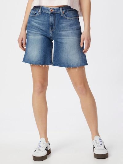 7 for all mankind Jeans 'BOY' in blue denim, Modelansicht