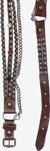 UNBEKANNT Belt in XS-XL in Brown