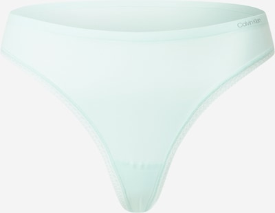 Calvin Klein Underwear Стринг в аквамарин: Изглед отпред