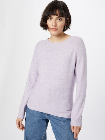 ONLY Sweater 'Rica' in Purple