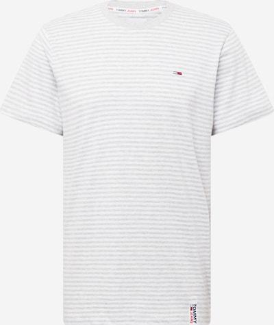 Tommy Jeans Bluser & t-shirts i navy / lysegrå / brandrød / hvid, Produktvisning