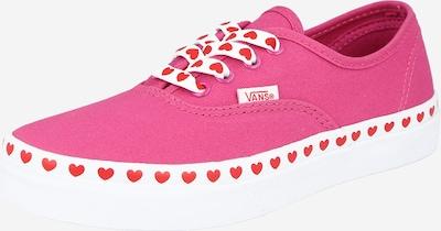 VANS Zapatillas deportivas 'Authentic' en fucsia / rojo / blanco, Vista del producto