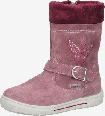 RICOSTA Stiefel in Pink