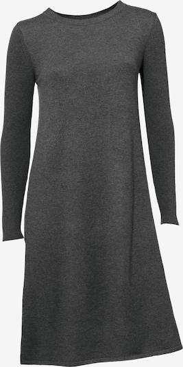 Megzta suknelė iš heine , spalva - margai pilka, Prekių apžvalga