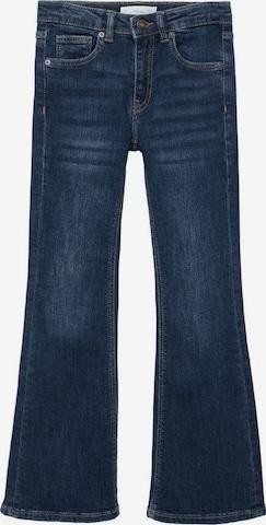 Jeans 'Aina' de la MANGO KIDS pe albastru