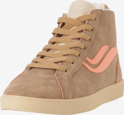 GENESIS Sneaker in braun / pfirsich, Produktansicht