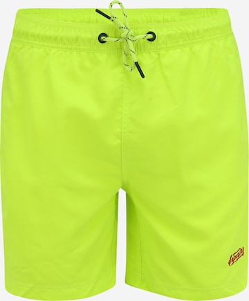 Superdry Ujumispüksid 'VENICE', värv roheline