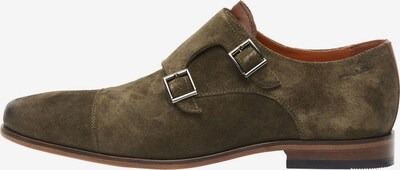 Van Lier Chaussure à lacets ' Rodos ' en vert, Vue avec produit