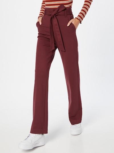 VERO MODA Pants 'EVANA' in Ruby red, View model
