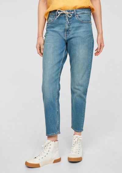 s.Oliver Jeans 'Franciz' in de kleur Blauw, Modelweergave