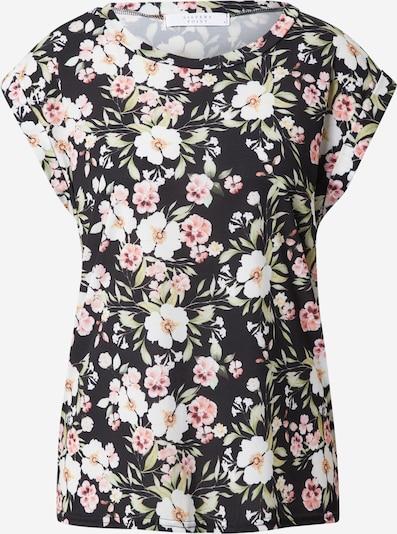 SISTERS POINT Shirt in hellgrün / pastellpink / schwarz / weiß, Produktansicht