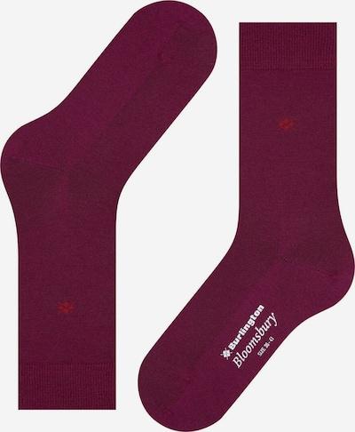 BURLINGTON Chaussettes en rouge foncé, Vue avec produit