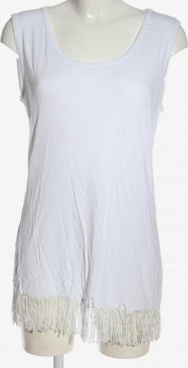 ZABAIONE Longtop in L in weiß, Produktansicht
