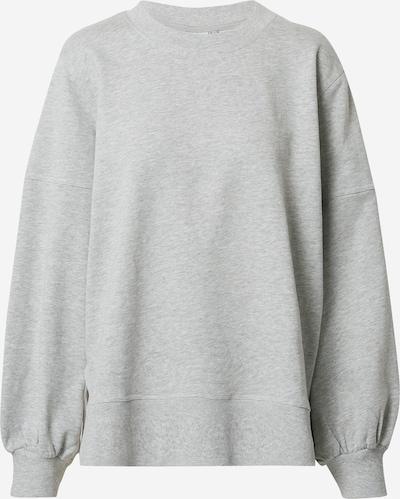 ICHI Sweat-shirt en gris chiné, Vue avec produit