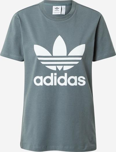 ADIDAS ORIGINALS T-Shirt in grau / weiß, Produktansicht