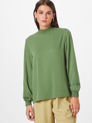 VILA Bluse 'DANIA' i grønn