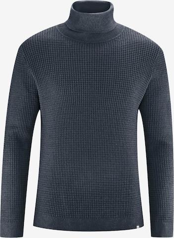 HempAge Pullover ' Turtleneck sweater ' in Grau