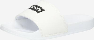 Saboți 'JUNE BATWING' LEVI'S pe negru / alb, Vizualizare produs