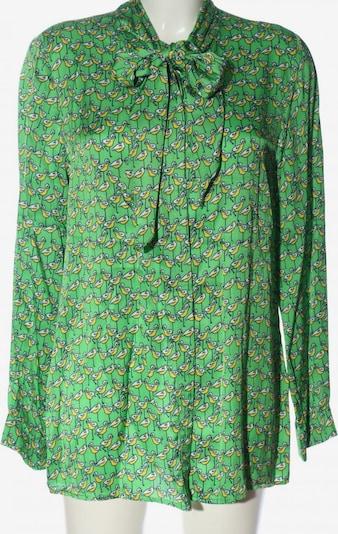 SEM PER LEI. Hemd-Bluse in XXL in pastellgelb / grün / weiß, Produktansicht
