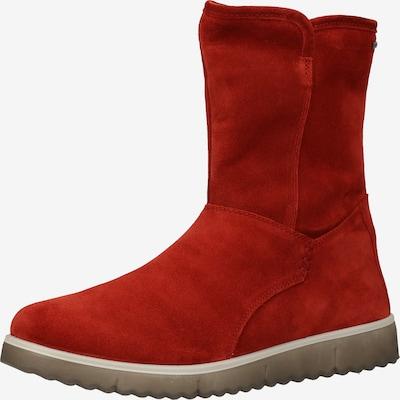 Legero Enkellaarsjes in de kleur Rood, Productweergave