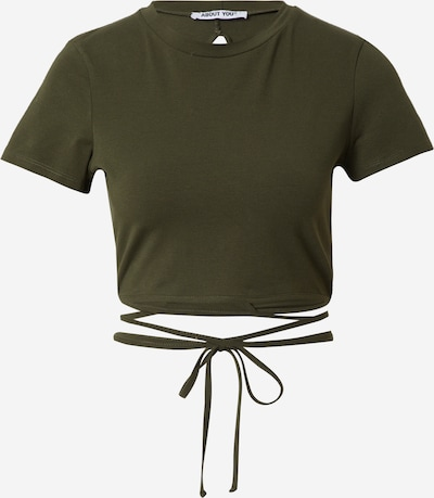 ABOUT YOU Shirt 'Janine' in khaki, Produktansicht