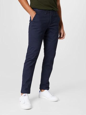 Pantalon chino 'Daniel' Kronstadt en bleu