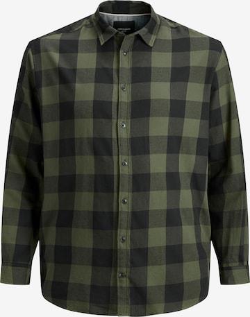 Jack & Jones Plus Hemd in Grün
