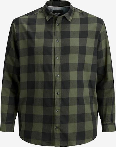 Jack & Jones Plus Košeľa - antracitová / kaki, Produkt