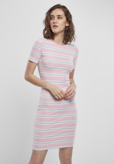 Urban Classics Kleid in opal / rosa / weiß, Modelansicht