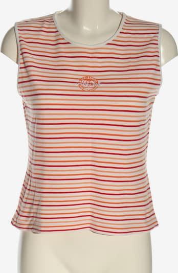 GREYSTONE Ringelshirt in M in hellorange / rot / weiß, Produktansicht