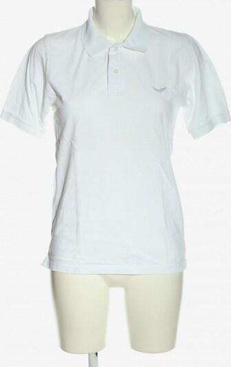 Trigema Polo-Shirt in S in weiß, Produktansicht