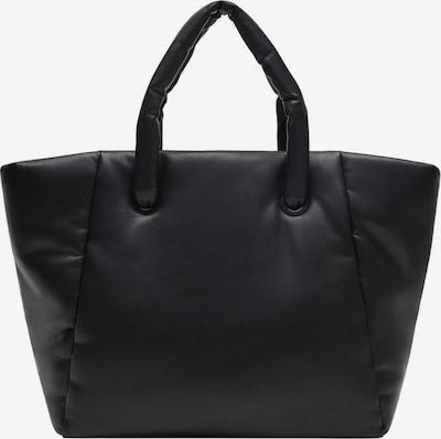 MANGO Nakupovalna torba | črna barva, Prikaz izdelka