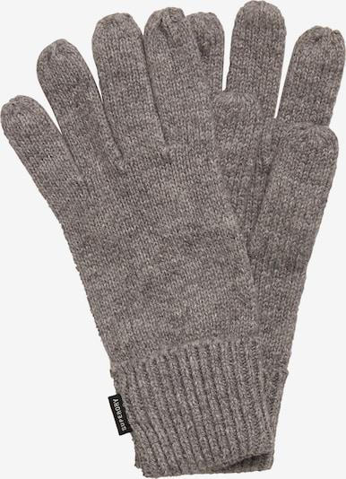 Superdry Vingerhandschoenen in de kleur Greige, Productweergave