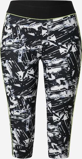 ESPRIT SPORT Спортен панталон в неоново жълто / черно / бяло, Преглед на продукта