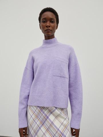 EDITED Sweater 'Wynter' in Purple