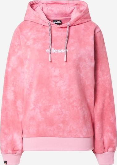 ELLESSE Sweatshirt 'Fluo' in pink / weiß, Produktansicht