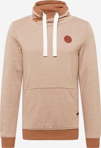 TOM TAILOR Sweatshirt in Braun