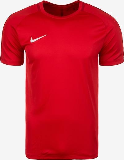 NIKE T-Shirt in rot / weiß, Produktansicht