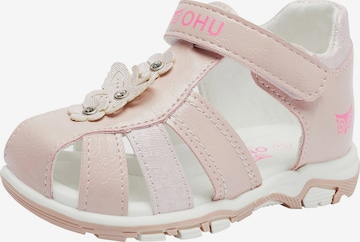 myToys-COLLECTION Sandals 'Mia' in Pink