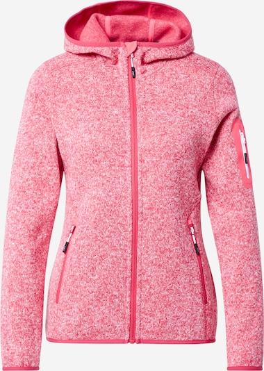 CMP Functionele fleece jas in de kleur Rood, Productweergave