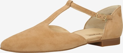 Paul Green Ballerina met riempjes in de kleur Sand, Productweergave