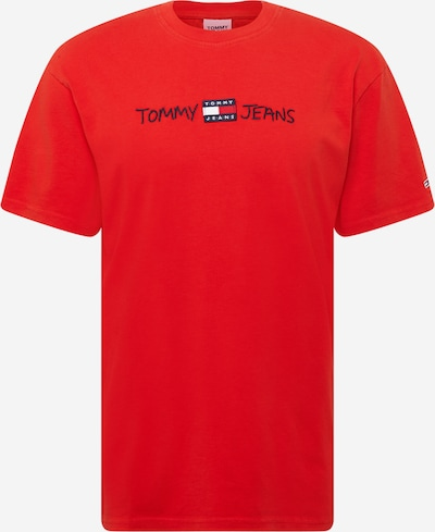 Tommy Jeans Shirt in navy / rot, Produktansicht
