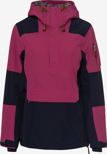 ICEPEAK Sportjacke 'CLAIRTON' in lila / schwarz, Produktansicht