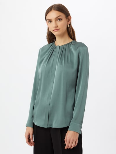 BOSS Casual Bluse 'Banora' in pastellgrün, Modelansicht
