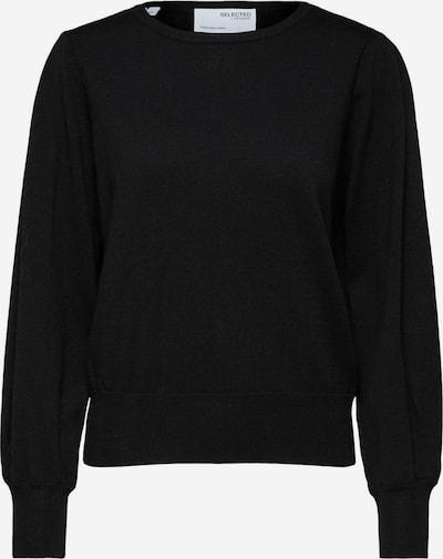 Pulover 'MANDA' Selected Femme Curve pe negru, Vizualizare produs