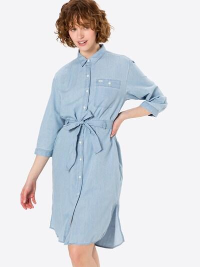 Lee Robe-chemise en bleu clair, Vue avec modèle