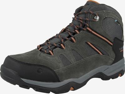 HI-TEC Boots 'BANDERA II' in de kleur Grafiet / Rood / Zwart, Productweergave