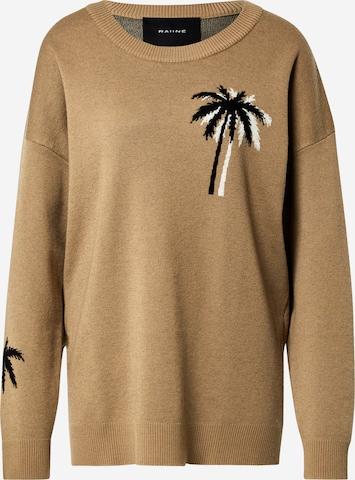 RAIINE Pullover in Beige