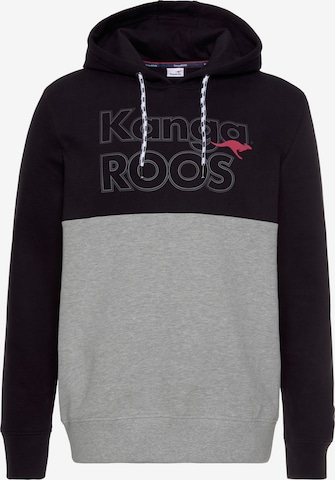 KangaROOS Sweatshirt in Schwarz