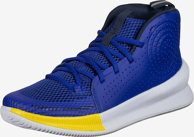 UNDER ARMOUR Jet Basketballschuh Herren in blau, Produktansicht
